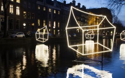 Amsterdam Light Festival barst bijna los…