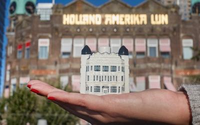 Het nieuwe miniatuur KLM-huisje is Hotel New York