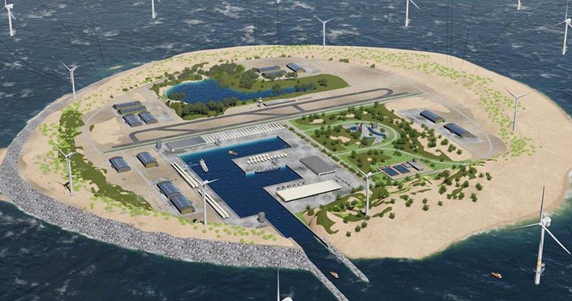 Duurzame dinsdag: energie-eiland in zicht