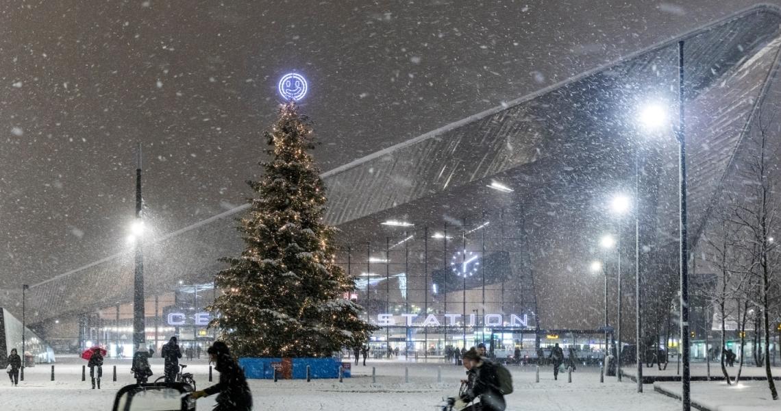 Hoe breng je de kerstvakantie door in Rotterdam?