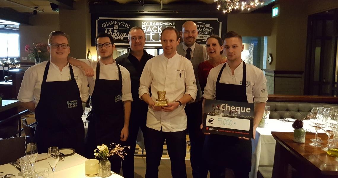 NY Basement winnaar van de Gouden Culinaire Hoed