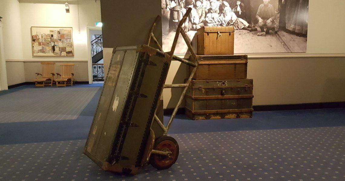 Hotel New York zoekt oude koffers