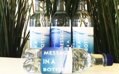 Wat een flesje water kan doen…