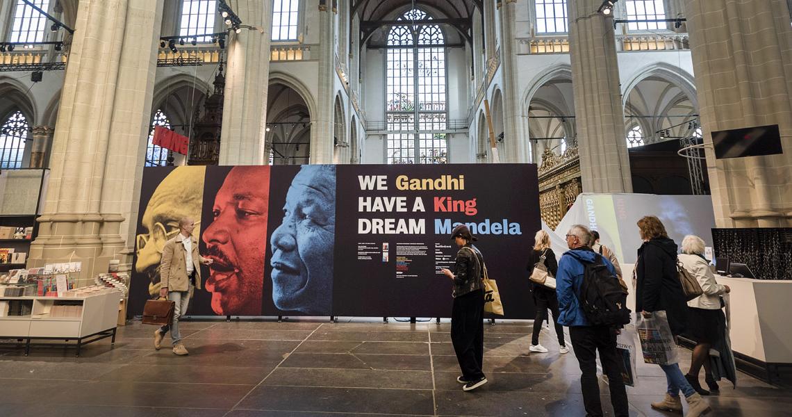 Gandhi, King & Mandela: 'We have a Dream'