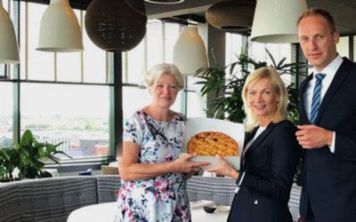 PERSBERICHT: WestCord WTC Hotel Leeuwarden start samenwerking met Blooming Bakery