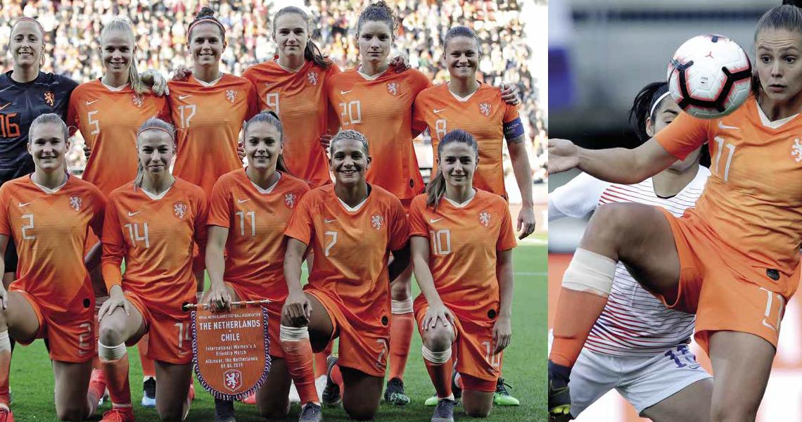 Oranje Leeuwinnen willen winnen!