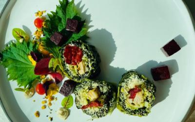 Sushi van boerenkool